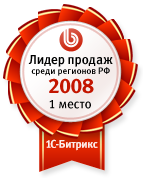 Лидер продаж по регионам 2008